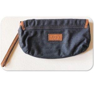 Lucky Brand Bags - Lucky Brand Denim Clutch